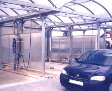 Car Wash Canopies Structures